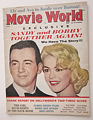 Movie World Magazine January 1964 Sandy & Bobby