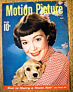 Motion Picture Magazine Cover April 1949 Jane Wyman