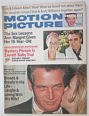 Motion Picture Magazine December 1973 Margaret & Newman