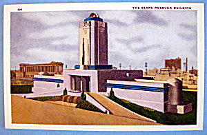 1933 Century of Progress, The Sears Roebuck Postcard (Image1)