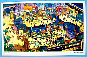 Streets of Paris Postcard (Chicago World's Fair) (Image1)