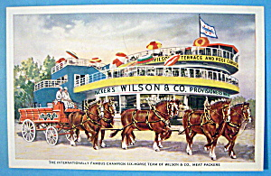 Wilson & Company Meat Packers Postcard (Chicago Fair) (Image1)