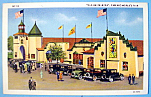 Old Heidelberg Inn Postcard (Chicago World's Fair) (Image1)