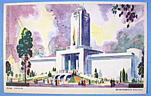 1933 Century of Progress Sear Roebuck Building Postcard (Image1)