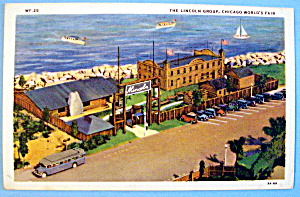 The Lincoln Group Postcard (Chicago World's Fair) (Image1)
