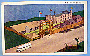 The Lincoln Group Postcard (Century Of Progress) (Image1)