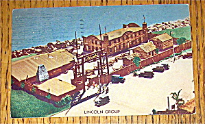 Postcard of The Lincoln Group (1933 Chicago Fair) (Image1)