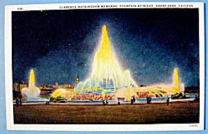1933 Century of Progress, Clarence Buckingham Postcard (Image1)