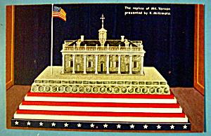 1933 Century of Progress Replica of Mt. Vernon Postcard (Image1)