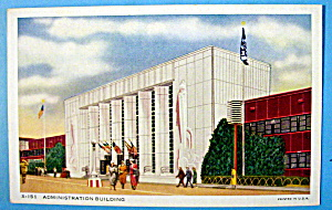 Administration Building Postcard (Chicago World's Fair) (Image1)