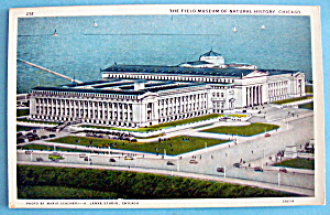 Field Museum & Natural History Postcard (Chicago Fair) (Image1)