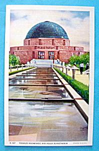 The Adler Planetarium Postcard (Century Of Progress) (Image1)