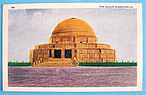 The Adler Planetarium Postcard (Chicago World's Fair) (Image1)