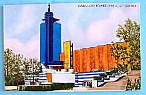 1933 Century of Progress Carillon Tower Postcard (Image1)