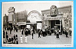 1933 Century of Progress The Midway Postcard (Image1)