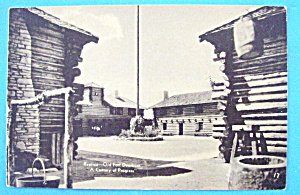Replica of Fort Dearborn Postcard-Chicago World's Fair (Image1)