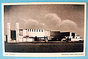 Electrical Group From Lagoon Postcard (Chicago Fair) (Image1)
