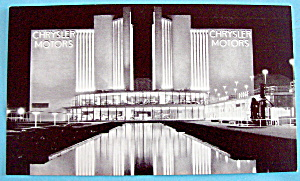 1933 Century of Progress Chrysler Motors Postcard (Image1)