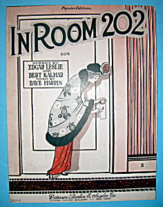Sheet Music For 1919 In Room 202
