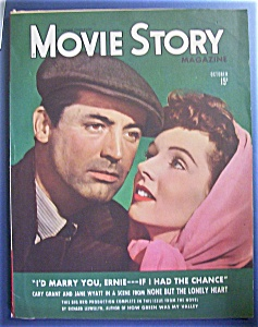 Movie Story Magazine/Cary Grant & Jane Wyatt - Oct 1944 (Image1)