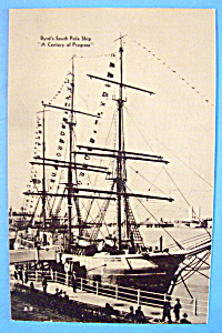 1933 Century of Progress, Byrd's Ship Postcard (Image1)