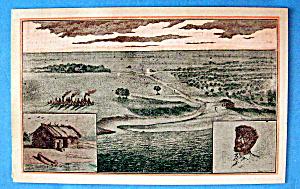 1933 Century of Progress, Jean Baptiste Postcard (Image1)