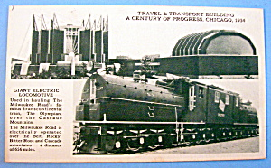 1933 Century of Progress, Giant Electric Locomotive (Image1)