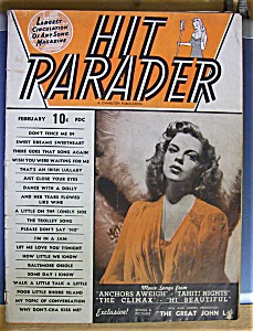 Feb 1944 Hit Parader / Judy Garland Cover