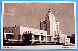 1933 Century of Progress, Ill. Host Building Postcard (Image1)