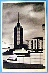 Hall Of Science Postcard (Chicago World's Fair, 1933) (Image1)