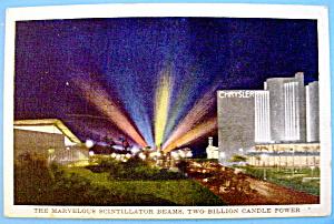 1933 Century of Progress, Scintillator Beams Postcard (Image1)