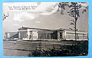 Field Museum of Natural History Postcard (Chicago Fair) (Image1)