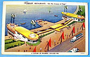 Thompson's Restaurant Postcard (Chicago World's Fair) (Image1)