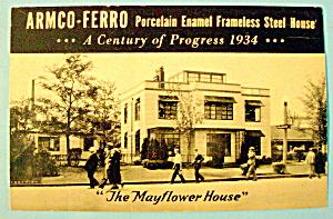 1933 Century of Progress, Armco-Ferro Postcard (Image1)