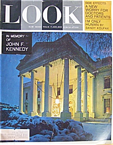 Look Magazine - Dec 31, 1963 - In Memory of Kennedy (Image1)