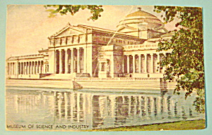 1933 Century of Progress, Science & Industry Postcard (Image1)