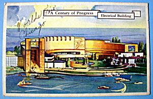 Postcard of Electrical Building (Chicago World's Fair) (Image1)