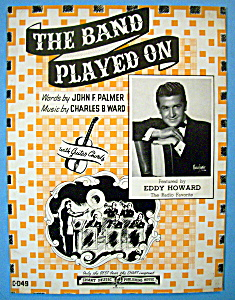 Sheet Music For 1941 The Band Played On