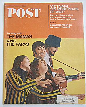Saturday Evening Post Magazine-March 25, 1967-Vietnam (Image1)