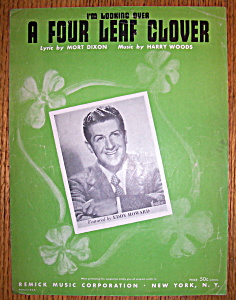Sheet Music / 1927 I'm Looking Over A Four Leaf Clover