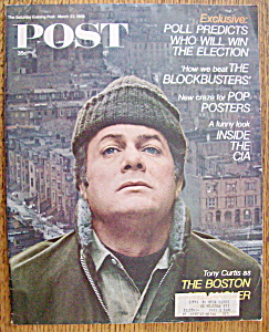 Saturday Evening Post March 23, 1968 Tony Curtis (Image1)
