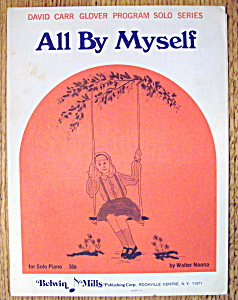 Sheet Music For 1971 All By Myself