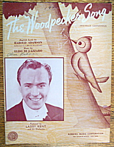 1940 The Woodpecker Song (Larry Kent Cover)