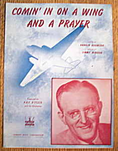 1943 Comin' In On A Wing & A Prayer Sheet Music (Image1)
