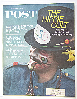 Saturday Evening Post September 23, 1967 Hippie Cult