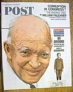 Saturday Evening Post Magazine-April 8, 1967-Eisenhower (Image1)