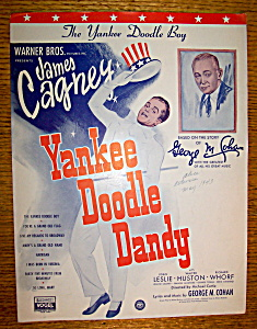 Sheet Music For 1931 Yankee Doodle (George M. Cohan) (Image1)
