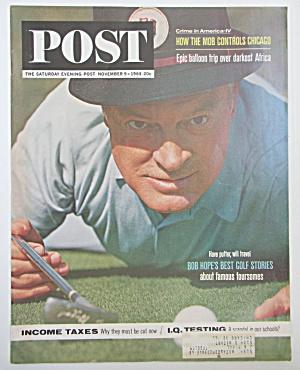 Saturday Evening Post Magazine - Nov 9, 1963 - Bob Hope (Image1)
