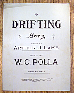 Sheet Music For 1920 Drifting Song