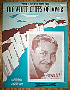 Sheet Music Of 1941 The White Cliffs Of Dover-n. Burton